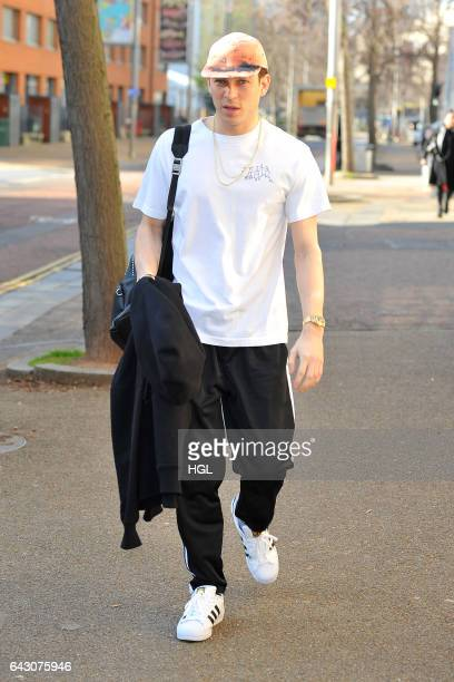 Joey Essex seen outside the ITV This Morning studios on February 20 2017 in London England