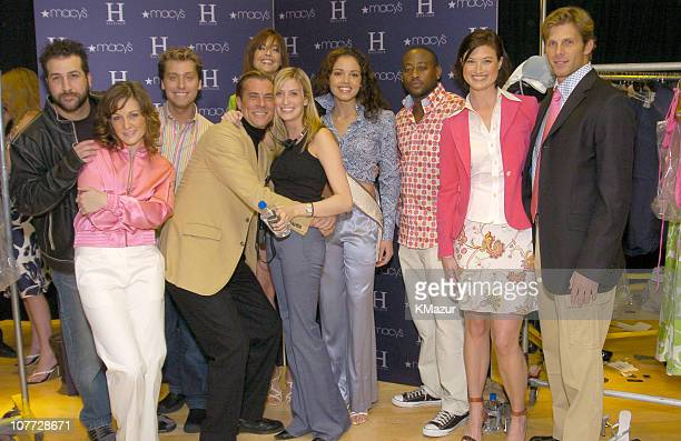 Joey Fatone Amy Carlson Lance Bass Carol Alt Miss USA Susie Castillo Omar Epps Meredith Phillips and Ian McKee