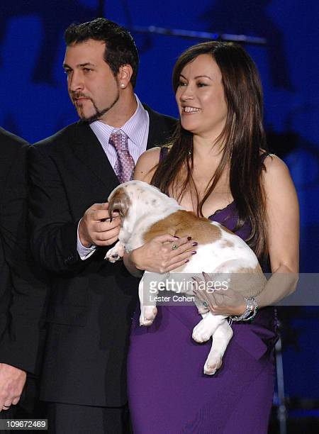 """Joey Fatone and Jennifer Tilly during 14th Annual Race to Erase MS Themed """"Dance to Erase MS"""" - Show at Hyatt Regency Century Plaza in Century City,..."""