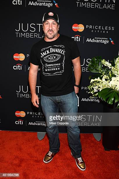Joey Fatone attends an exclusive NYC performance with Citi / AAdvantage MasterCard Priceless Access at Hammerstein Ballroom on July 10 2014 in New...