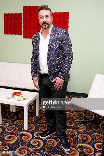 Joey Fatone attends the 141st Kentucky Derby at Churchill Downs on May 2 2015 in Louisville Kentucky
