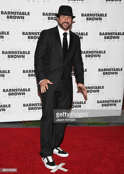 Joey Fatone attends the Barnstable Brown Party Celebrating The 135th Kentucky Derby at Barnstable Brown House on May 1 2009 in Louisville Kentucky