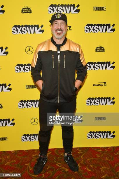 Joey Fatone attends the The Boy Band Con The Lou Pearlman Story Premiere 2019 SXSW Conference and Festivals at Paramount Theatre on March 13 2019 in...