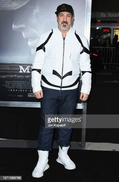 Joey Fatone attends Warner Bros Pictures World Premiere Of The Mule at Regency Village Theatre on December 10 2018 in Westwood California