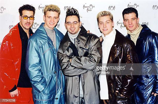 Joey Fatone Justin Timberlake Chris Kirkpatrick Lance Bass and JC Chasez of n' Sync