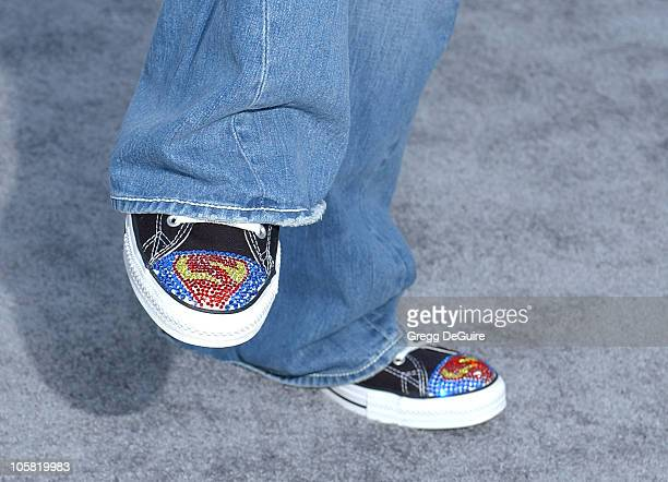 Joey Fatone's shoes during World Premiere of Superman Returns Arrivals at Mann's Village and Bruin Theaters in Westwood California United States