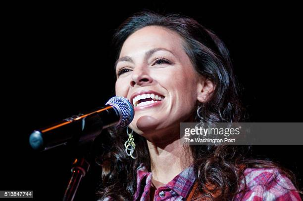 Joey Feek of Joey + Rory performs at the Carlyle Club as a part of Boo Bash.