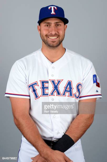 Joey Gallo of the Texas Rangers poses during Photo Day on Wednesday February 22 2017 at Surprise Stadium in Surprise Arizona
