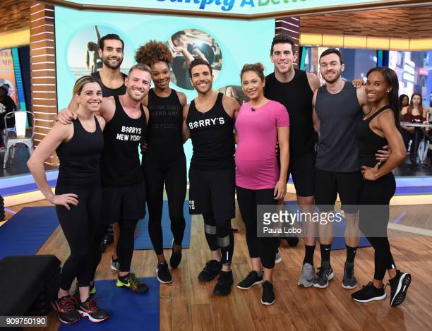 AMERICA Joey Gonzalez shares workout routines on 'Good Morning America' Wednesday January 24 airing on the ABC Television Network JOEY