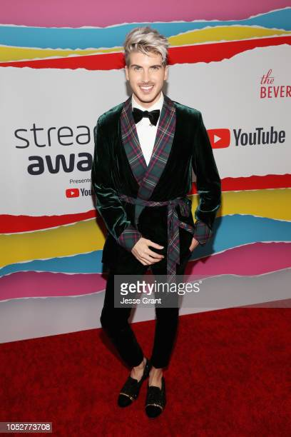 Joey Graceffa attends The 8th Annual Streamy Awards at The Beverly Hilton Hotel on October 22 2018 in Beverly Hills California