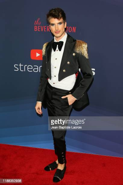 Joey Graceffa attends the 9th Annual Streamy Awards at the Beverly Hilton Hotel on December 13 2019 in Beverly Hills California