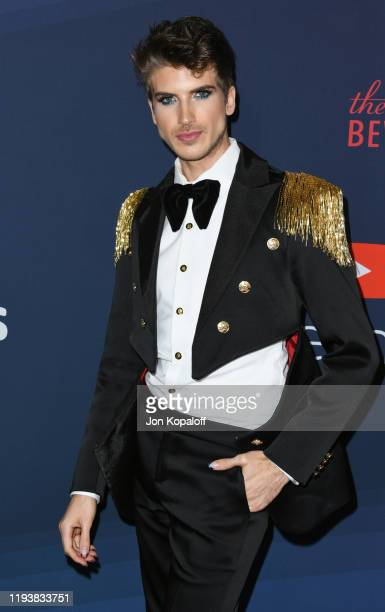 Joey Graceffa attends the 9th Annual Streamy Awards at The Beverly Hilton Hotel on December 13, 2019 in Beverly Hills, California.