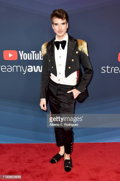 Joey Graceffa attends The 9th Annual Streamy Awards on December 13 2019 in Los Angeles California