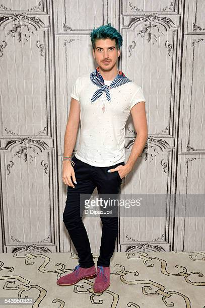 Joey Graceffa attends the AOL Build Speaker Series to discuss the new YouTube Red series Escape The Night at AOL Studios In New York on June 30 2016...