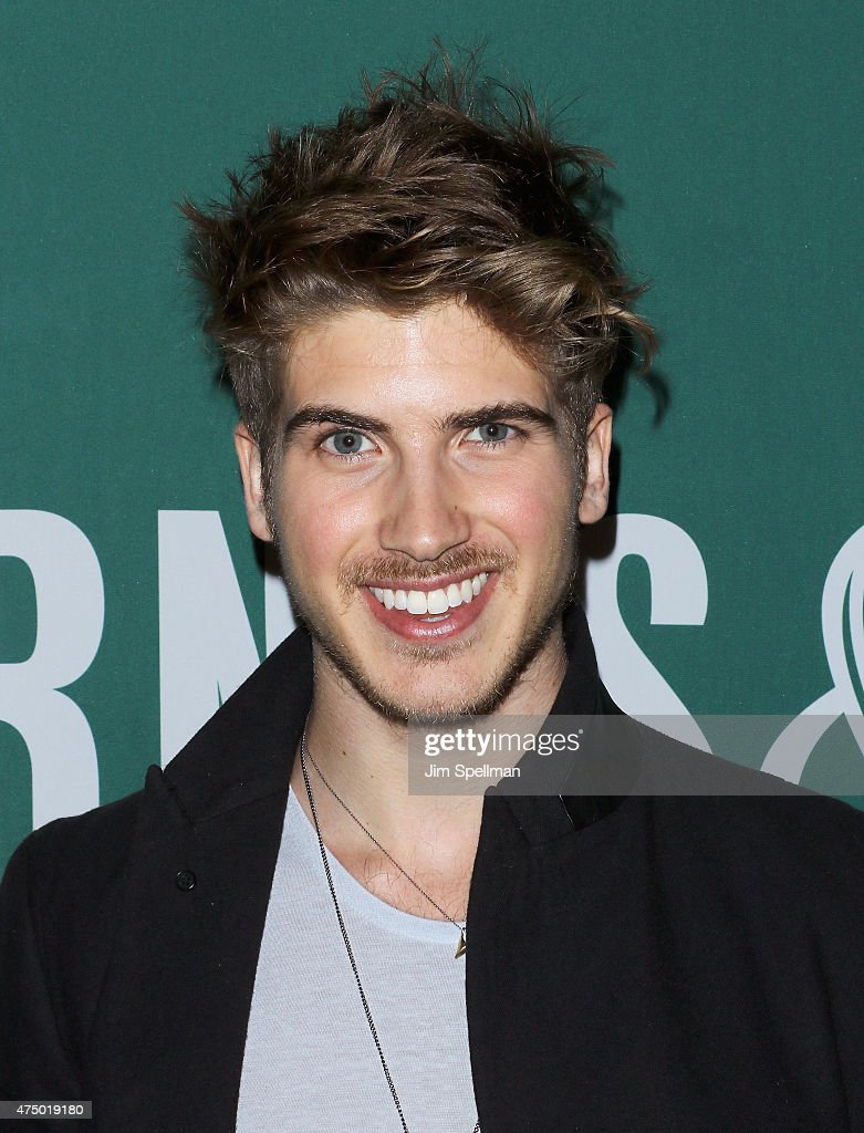 "Joey Graceffa Signs Copies Of His Book ""In Real Life: My Journey To A Pixelated World"""