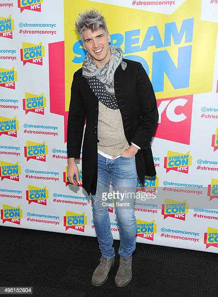 Joey Graceffa speaks onstage at Stream Con NYC on October 31 2015 in New York City