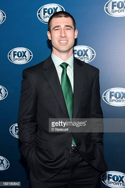 Joey Harrington attends the the after party for the 2013 Fox Sports Media Group Upfront at Roseland Ballroom on March 5 2013 in New York City