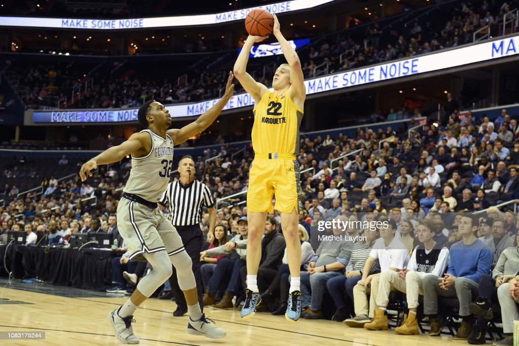 Marquette v Maryland : News Photo