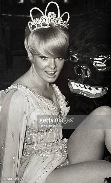 Joey Heatherton during Artists and Models Ball November 17 1967 at Biltmore Hotel in New York City New York United States
