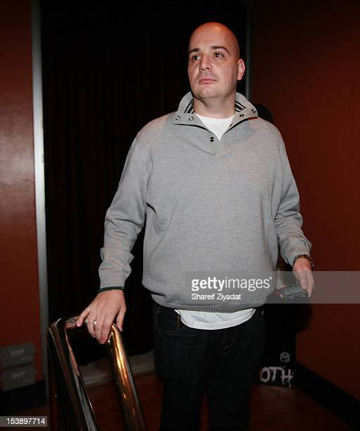 """Joey I.E attends the album listening party of Meek Mill's """"Dreams and Nightmare"""" at Electric Lady Studio on October 10, 2012 in New York City."""