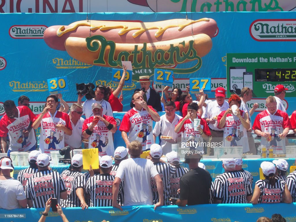 2019 Nathan's Famous International Hot Dog Eating Contest : News Photo