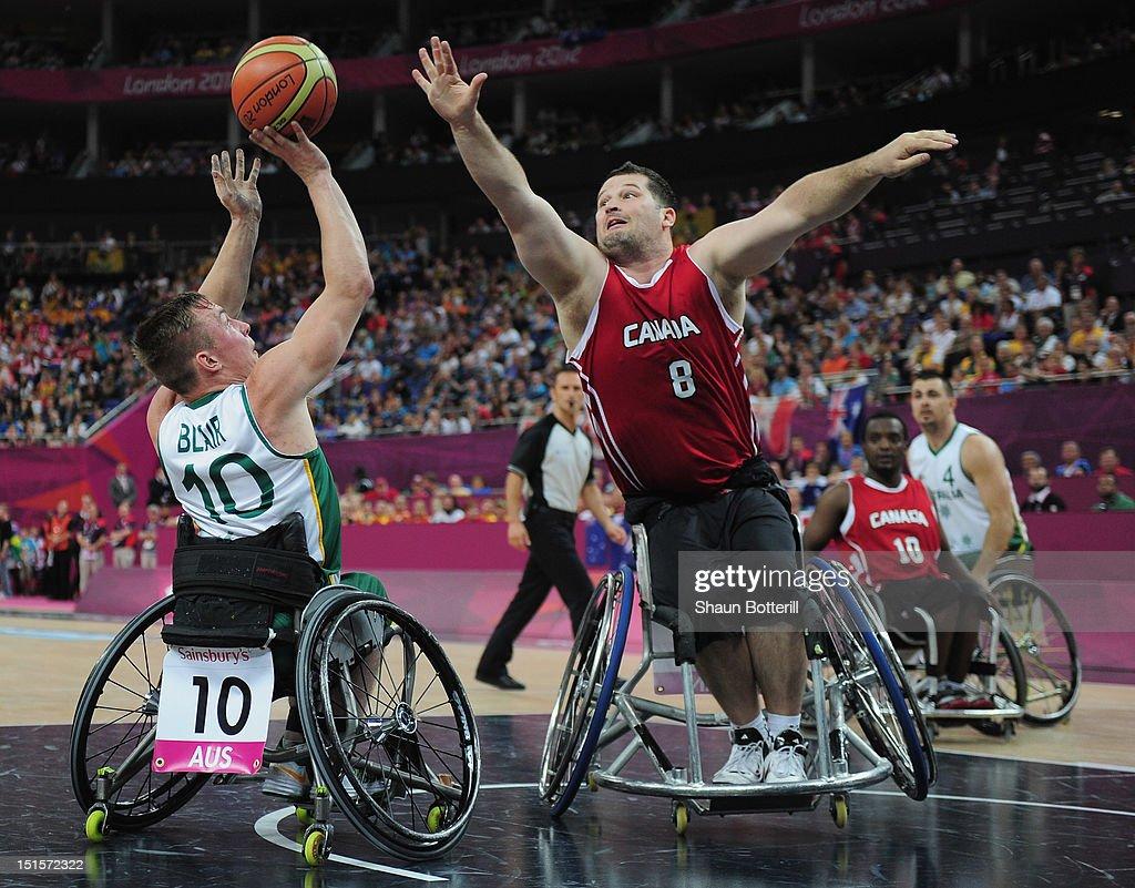 2012 London Paralympics - Day 10 - Wheelchair Basketball : News Photo