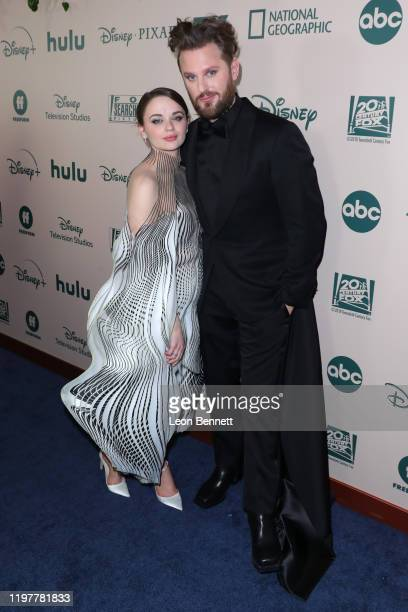 Joey King and Bobby Berk attend The Walt Disney Company 2020 Golden Globe Awards Post-Show Celebration at The Beverly Hilton Hotel on January 05,...