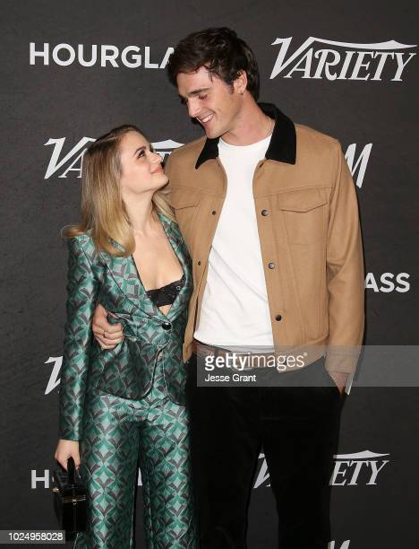 Joey King and Jacob Elordi attend Variety's Power of Young Hollywood event at the Sunset Tower Hotel on August 28 2018 in West Hollywood California