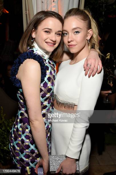 Joey King and Sydney Sweeney are seen as Entertainment Weekly Celebrates Screen Actors Guild Award Nominees at Chateau Marmont on January 18 2020 in...