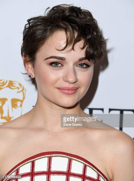 Joey King arrives at the BAFTA Los Angeles BBC America TV Tea Party 2019 at The Beverly Hilton Hotel on September 21 2019 in Beverly Hills California