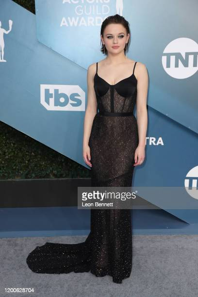 Joey King attends 26th Annual Screen Actors Guild Awards at The Shrine Auditorium on January 19 2020 in Los Angeles California