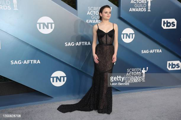 Joey King attends 26th Annual Screen Actors Guild Awards at The Shrine Auditorium on January 19, 2020 in Los Angeles, California.