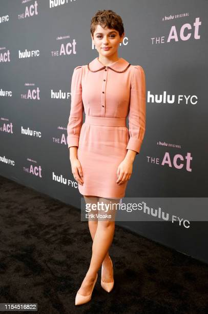 Joey King attends Hulu's The Act FYC event at Linwood Dunn Theater at the Pickford Center for Motion Study on June 07 2019 in Hollywood California
