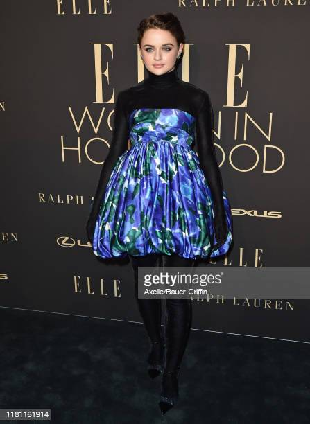 Joey King attends the 2019 ELLE Women In Hollywood at the Beverly Wilshire Four Seasons Hotel on October 14, 2019 in Beverly Hills, California.