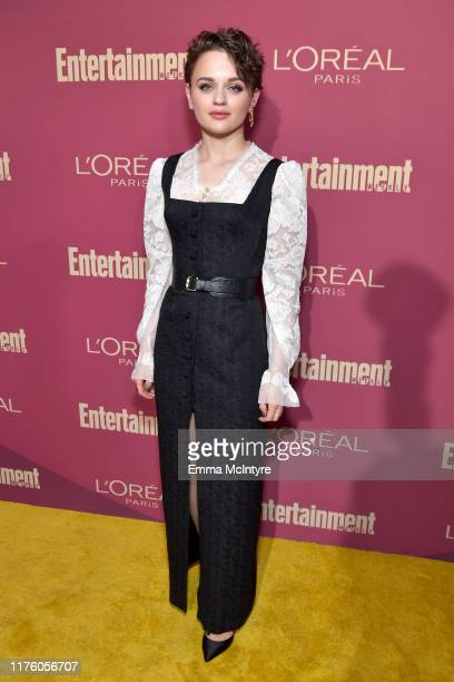 Joey King attends the 2019 Pre-Emmy Party hosted by Entertainment Weekly and L'Oreal Paris at Sunset Tower Hotel in Los Angeles on Friday, September...