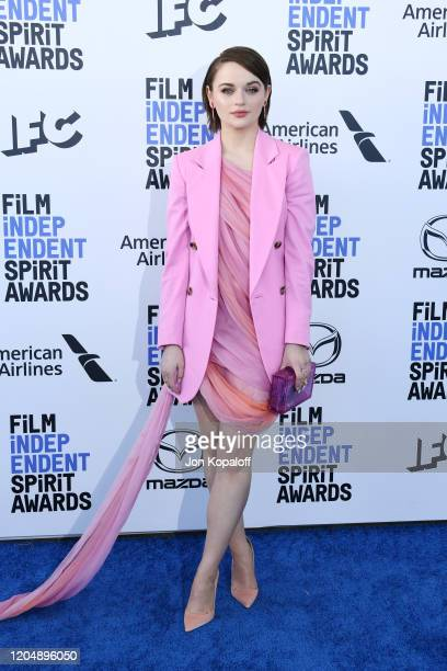 Joey King attends the 2020 Film Independent Spirit Awards on February 08 2020 in Santa Monica California