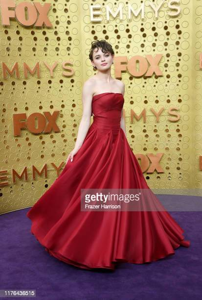 Joey King attends the 71st Emmy Awards at Microsoft Theater on September 22, 2019 in Los Angeles, California.