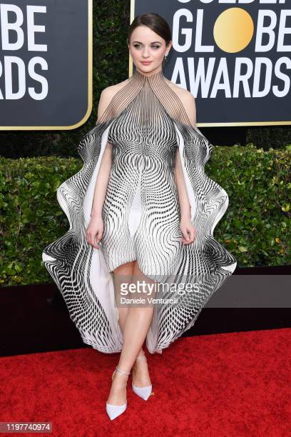 Joey King attends the 77th Annual Golden Globe Awards at The Beverly Hilton Hotel on January 05 2020 in Beverly Hills California