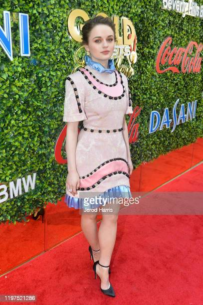 Joey King attends the 7th Annual Gold Meets Golden at Virginia Robinson Gardens and Estate on January 04 2020 in Los Angeles California