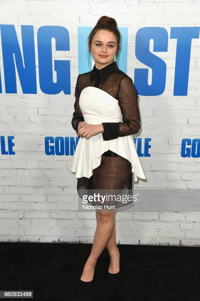 Joey King attends the 'Going In Style' New York Premiere at SVA Theatre on March 30 2017 in New York City