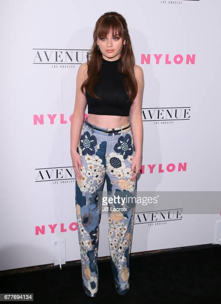 Joey King attends the NYLON Young Hollywood Party at AVENUE Los Angeles on May 2 2017 in Los Angeles California