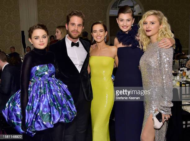 Joey King Ben Platt Zoey Deutch Diana Silvers and Julia Schlaepfer attend ELLE's 26th Annual Women In Hollywood Celebration Presented By Ralph Lauren...