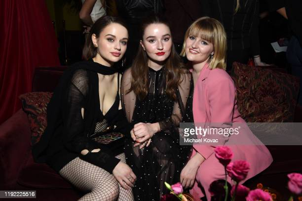 Joey King Kaitlyn Dever and Mady Dever attend the Christian Louboutin Laura Brown Celebrate The Debut Of The 'ELISA' at The Paramour Estate on...