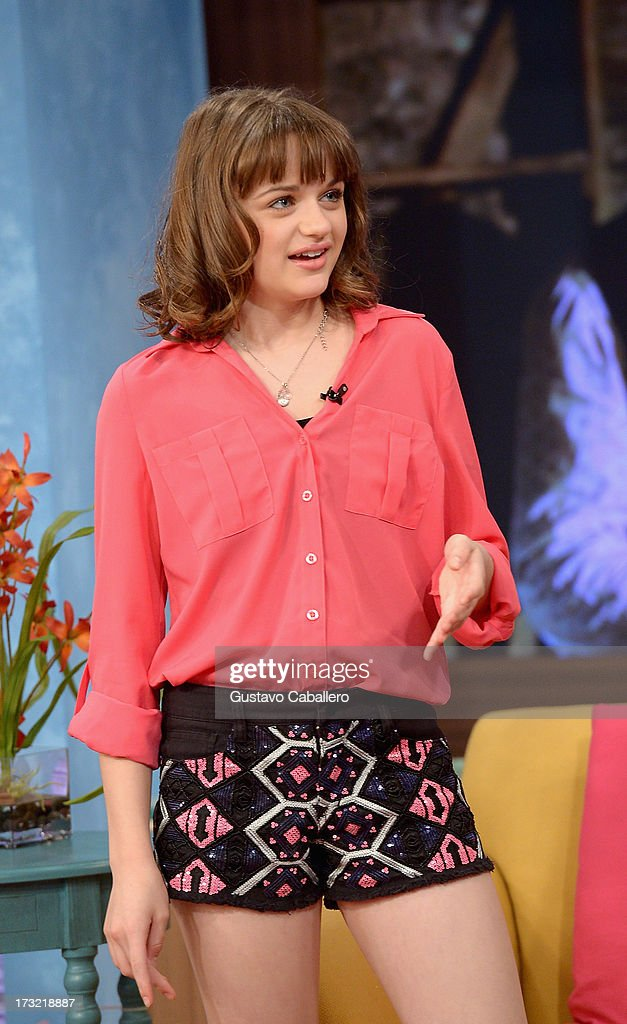 Joey King visits Univisions 'Despierta America at Univision Headquarters on July 10, 2013 in Miami, Florida.