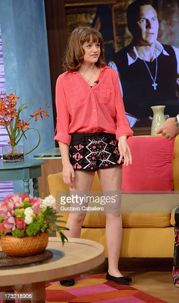 Joey King visits Univisions 'Despierta America at Univision Headquarters on July 10 2013 in Miami Florida