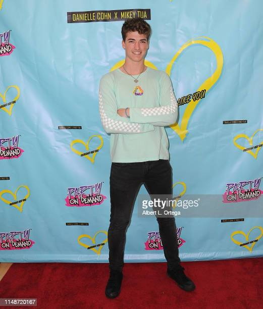 Joey Klaasen attends the Release Party For Dani Cohn And Mikey Tua's Song Somebody Like You held at The Industry Loft on June 8 2019 in Los Angeles...