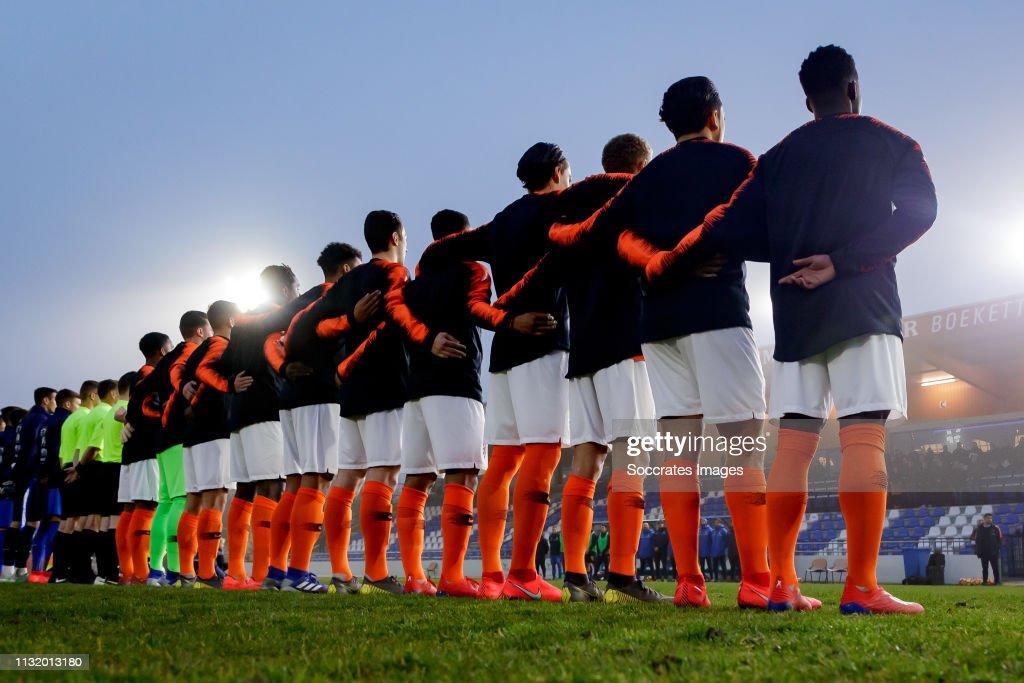 NLD: Netherlands U18 v Italy U18 - International Friendly