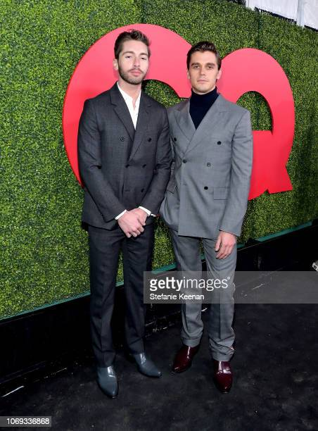 Joey Krietemeyer and Antoni Porowski attends the 2018 GQ Men of the Year Party at a private residence on December 6 2018 in Beverly Hills California