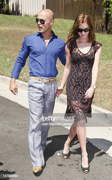 Joey Lawrence and Chandie YawnNelson arrives at the 5th Annual Primetime Emmy Nominees' BAFTA Tea Party at Wattles Mansion on September 15 2007 in...