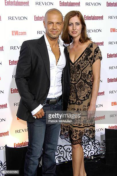 Joey Lawrence and Chandie YawnNelson attend Entertainment Weekly's 5th Annual Emmys Celebration Arrivals at Opera/Crimson on September 15 2007 in...